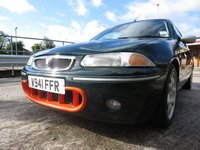 USED 1999 ROVER 200 1.8 BRM 3d 145 BHP www.alchemycarsales.co.uk