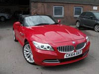 USED 2014 64 BMW Z4 Z4 SDRIVE 18I ROADSTER 2d 155 BHP ANY PART EXCHANGE WELCOME, COUNTRY WIDE DELIVERY ARRANGED, HUGE SPEC