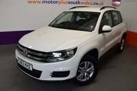 2013 VOLKSWAGEN TIGUAN 2.0 S TDI BLUEMOTION TECHNOLOGY 4MOTION 5d 138 BHP £9980.00