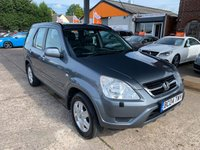 2004 HONDA CR-V 2.0 I-VTEC EXECUTIVE 5d AUTO 148 BHP