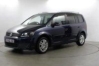 USED 2012 62 VOLKSWAGEN TOURAN 1.6 SE TDI DSG 5d AUTO 106 BHP