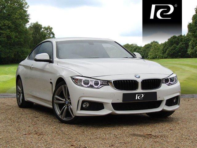 2014 64 BMW 4 SERIES 2.0 420D M SPORT 2d AUTO 181 BHP