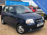 USED 2008 08 HYUNDAI AMICA 1.1 CDX 5d AUTOMATIC PETROL Only 8,725 miles from New 5 Door Automatic