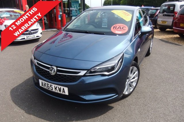 USED 2015 65 VAUXHALL ASTRA 1.4 ENERGY 5d 123 BHP ****12 months warranty****