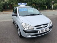 USED 2007 07 HYUNDAI GETZ 1.4 GSI 3d 96 BHP Buy with confidence from a garage that has been established  for 26 years.