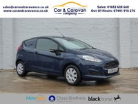 USED 2014 14 FORD FIESTA 1.6 ECONETIC TDCI 1d 94 BHP One Owner FORD Dealer History Buy Now, Pay Later Finance!