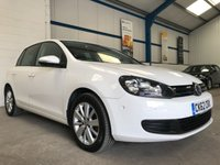USED 2012 62 VOLKSWAGEN GOLF 1.6 MATCH TDI 5d 103 BHP