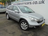 USED 2007 57 HONDA CR-V 2.2 I-CTDI ES 5d 139 BHP Two Owners Service History