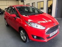 USED 2014 64 FORD FIESTA 1.0 ZETEC 5d 99 BHP Low Mileage and Great Car