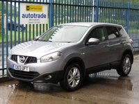 2013 NISSAN QASHQAI 1.6 ACENTA 5d Air con Cruise Alloys £6795.00