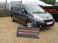 USED 2011 61 PEUGEOT EXPERT 2.0 TEPEE COMFORT WHEELCHAIR ACCESS  L1 5d 120 BHP