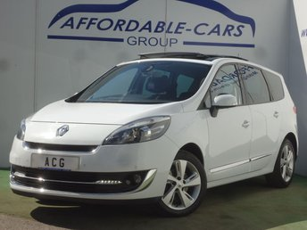 2012 RENAULT GRAND SCENIC 1.5 DYNAMIQUE TOMTOM ENERGY DCI S/S 5d 110 BHP £3950.00