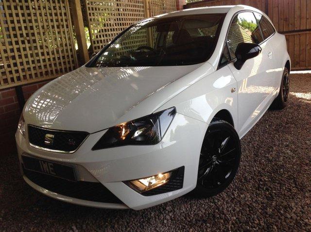 2014 14 SEAT IBIZA 1.6 CR TDI FR 3d 104 BHP