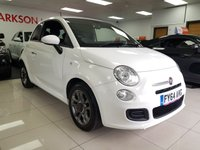 USED 2014 64 FIAT 500 1.2 S 3d+SPORTS REACRO SEATS+FULL EXTRIOR BODYKIT+ALLOYS+SERVICE HISTORY