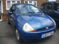 USED 2007 07 FORD KA 1.3 STYLE CLOTH 3d 69 BHP