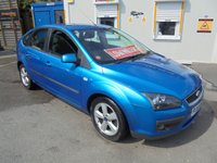 2005 FORD FOCUS 2.0 ZETEC CLIMATE 5d 144 BHP ** ONLY 41,000 MILES ** AIR CONDITIONING, ELECTRIC WINDOWS, ALLOY WHEEL MOT TILL 17 -12 - 2019 £1200.00