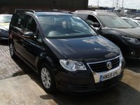 USED 2009 59 VOLKSWAGEN TOURAN 1.9 S TDI 5d 103 BHP ANY PART EXCHANGE WELCOME, COUNTRY WIDE DELIVERY ARRANGED, HUGE SPEC