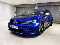 USED 2015 65 VOLKSWAGEN GOLF 2.0 R DSG 3d AUTO 298 BHP ADAPTIVE CRUISE CONTROL + BLUETOOTH + LED DAYTIME RUNNING LIGHTS