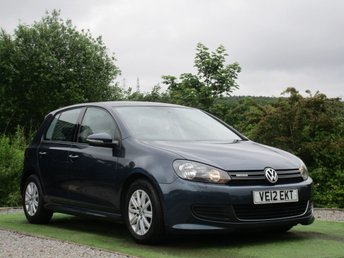 2012 VOLKSWAGEN GOLF 1.6 S TDI BLUEMOTION 5d 103 BHP £5390.00