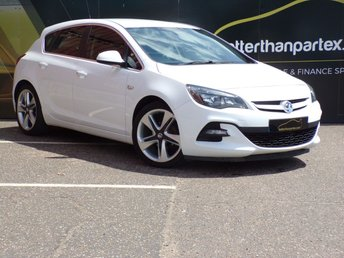 2015 VAUXHALL ASTRA 1.4 LIMITED EDITION 5d 140 BHP FULL LEATHER £6950.00