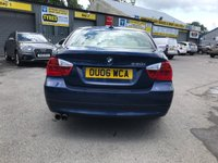 USED 2006 06 BMW 3 SERIES 3.0 330I SE 4d AUTO 255 BHP IN METALLIC BLUE WITH 69,000 MILES AND A FULL SERVICE HISTORY APPROVED CARS AND FINANCE ARE PLEASED TO OFFER THIS BMW 3 SERIES 3.0 330L SE 4 DOOR 255 BHP IN METALLIC BLUE WITH 69,000 MILES WITH A FULL SERVICE HISTORY AT 2K, 15K, 31K, 41K, 44K, 46K, 48K, 51K, 57K, 59K, AND 69K. THIS VEHICLE HAS GOT A MASSIVE SPEC SUCH A FULL LEATHER INTERIOR, SAT NAV, CRUISE CONTROL, AIR CONDITIONING , ALLOY WHEELS, ELECTRIC WINDOWS, ELECTRIC MIRRORS AND MUCH MORE. THIS IS A BEAUTIFUL VEHICLE THAT HAS BE WELL MAINTAINED AND LOOKED AFTER AND DRIVES SUPERB FOR FURTHER INFORMA