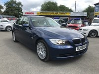 2006 BMW 3 SERIES 3.0 330I SE 4d AUTO 255 BHP IN METALLIC BLUE WITH 69,000 MILES AND A FULL SERVICE HISTORY £4499.00