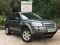 USED 2010 59 LAND ROVER FREELANDER 2 2.2 TD4 E GS 5dr Cruise, Bluetooth, FSH