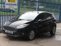 2014 FORD FIESTA 1.0 TITANIUM 5d Voice control Privacy Alloys £7250.00