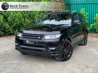 USED 2015 15 LAND ROVER RANGE ROVER SPORT 5.0 SUPER CHARGER AUTOBIOGRAPHY DYNAMIC VAT QUALIYING