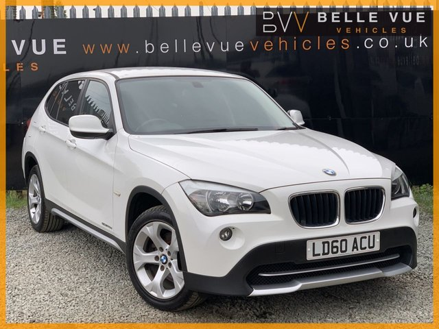 USED 2010 60 BMW X1 2.0 SDRIVE20D SE 5d 174 BHP *ONLY 50K MILES, ALPINE WHITE, MUST SEE!*