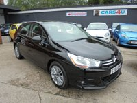 USED 2013 63 CITROEN C4 1.6 VTR PLUS 5d 118 BHP