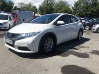 USED 2013 13 HONDA CIVIC 2.2 I-DTEC ES 5d 148 BHP IN METALLIC WHITE WITH 96,000 MILES AND A FULL SERVICE HISTORY APPROVED CARS AND FINANCE ARE PLEASED TO OFFER THIS HONDA CIVIC 2.2 I-DTEC ES 5 DOOR 148 BHP IN METALLIC WHITE WITH 96,000 MILES AND FULL SERVICE HISTORY AT 11K, 24K, 36K, 50K, 61K, 69K, AND 87K. THIS VEHICLE HAS GOT A GOOD SPEC SUCH AS BLUETOOTH, ELECTRIC WINDOWS, MULTI-FUNCTIONING STEERING WHEEL, ELECTRIC MIRRORS AND MUCH MORE. THIS IS A VERY ECONOMICAL VEHICLE DUE TO THE DIESEL ENGINE AND DRIVES SUPURB, FOR FURTHER INFORMATION PLEASE CALL ON 01622871555.