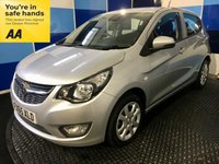 USED 2015 65 VAUXHALL VIVA 1.0 SE 5d 74 BHP A stunning example of this much admired 5 door hatchback finished in unmarked metalic silver ,an ideal first car with road tax of only £30 a year ,low insurance group 3 ,in conjunction with a combined ecconomy of 62.8 mpg,makes this a perfect choice for the first time driver.This car comes equiped with front and rear fog lights ,lane departure warning system ,electric mirrors and windows,remote central locking,cruise control and speed limiter,onboard computer,tpms,plus all the usual refinements.