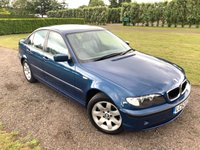 2002 BMW 3 SERIES 2.0 318I SE 4d AUTO 141 BHP Full Service History X2 Owners £1849.00