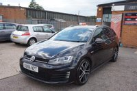 USED 2017 66 VOLKSWAGEN GOLF 2.0 TDI BlueMotion Tech GTD DSG (s/s) 5dr FULL VW HISTORY+SATNAV