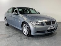 USED 2006 06 BMW 3 SERIES 2.5 325I SE 4d AUTO 215 BHP FULL BLACK LEATHER SEATS+AUTO+LONG MOT