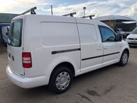 USED 2013 13 VOLKSWAGEN CADDY MAXI 1.6 C20 TDI BLUEMOTION TECHNOLOGY 102 BHP