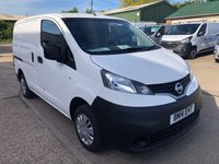 USED 2014 14 NISSAN NV200 1.5 DCI ACENTA 90 BHP LOW MILEAGE!