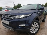 USED 2014 64 LAND ROVER RANGE ROVER EVOQUE 2.2 SD4 PURE TECH 5d 190 BHP 2KEYS+LEATHER+PRIVGLASS+MEDIA+