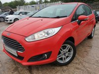 USED 2014 14 FORD FIESTA 1.2 ZETEC 5d 81 BHP 2KEYS+ALLOYS+ELECS+AIRCON+CD+