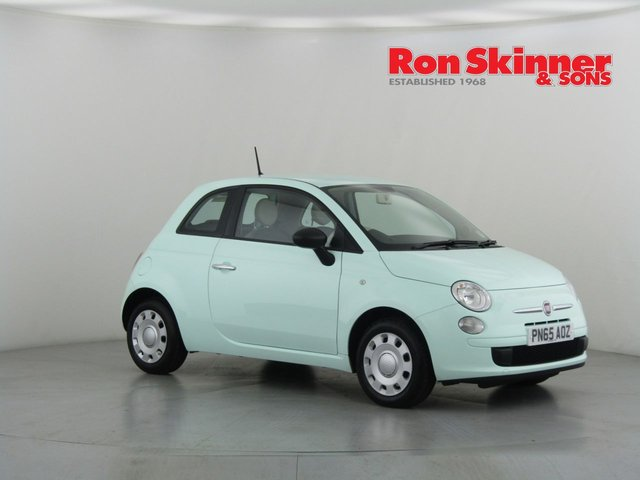 View our 2015 65 FIAT 500 1.2 TWINAIR LOUNGE 3d 105 BHP