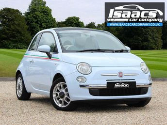 2009 FIAT 500 1.2 LOUNGE 3d 69 BHP £2645.00
