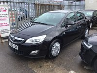 2011 VAUXHALL ASTRA 1.4 EXCLUSIV 5d 98 BHP £SOLD