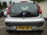 USED 2008 58 PEUGEOT 107 1.0 URBAN 2-TRONIC 5d AUTOMATIC 68 BHP GUARANTEED TO BEAT ANY 'WE BUY ANY CAR' VALUATION ON YOUR PART EXCHANGE