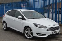 2016 FORD FOCUS 1.5 TITANIUM TDCI 5d AUTO 118 BHP £9500.00