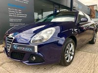 USED 2013 63 ALFA ROMEO GIULIETTA 1.6 JTDM-2 LUSSO 5d 105 BHP One owner from new, Heated seats, Rear Sensors, 2 keys