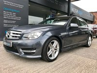 USED 2013 63 MERCEDES-BENZ C CLASS 1.8 C250 BLUEEFFICIENCY AMG SPORT 4d AUTO 202 BHP SATNAV, FULL MERC HISTORY, 2 KEYS