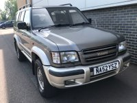 USED 2002 52 ISUZU TROOPER 3.5 LWB V6 CITATION 3ROW 5d AUTO 212 BHP