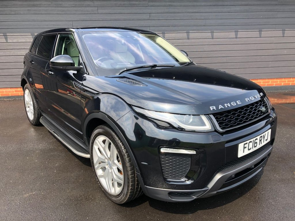 USED 2016 16 LAND ROVER RANGE ROVER EVOQUE HSE TD4A DYNAMIC LUX