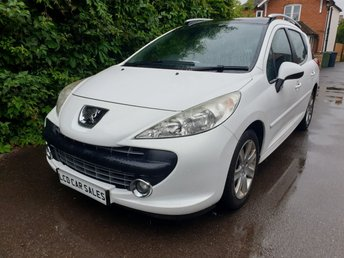 2008 PEUGEOT 207 1.6 PETROL SPORT ESTATE - FULL SERVICE HISTORY - ULEZ COMPLIANT, PANORAMIC SUNROOF, CD PLAYER, ROOF RAILS , AIR CONDITIONING, ALLOY WHEELS  £2990.00
